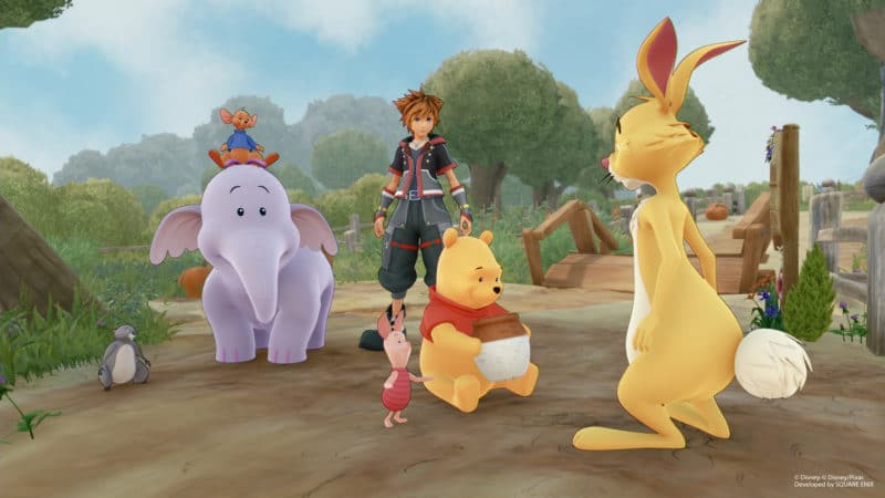 Kingdom Hearts 3 nouvelles images avec le casting de Winnie l'Ourson (3)