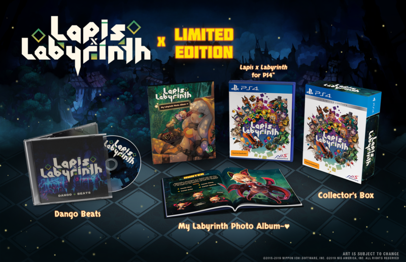 Lapis x labyrinth - Limited Edition PS4