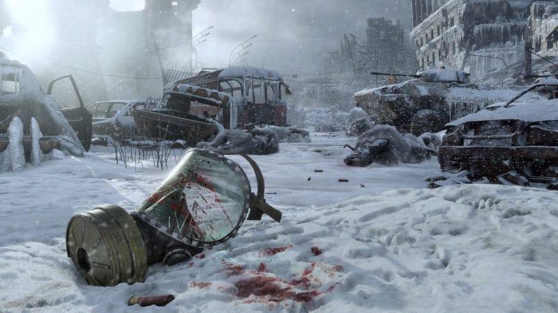 Metro Exodus la Russie est desertée et glaciale