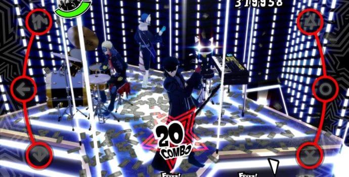 Persona Dancing 3 et 5 Les voleurs fantômes en action