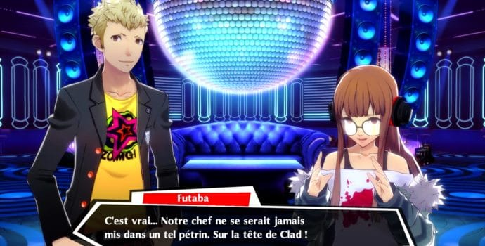 Persona Dancing 3 et 5 mode Social