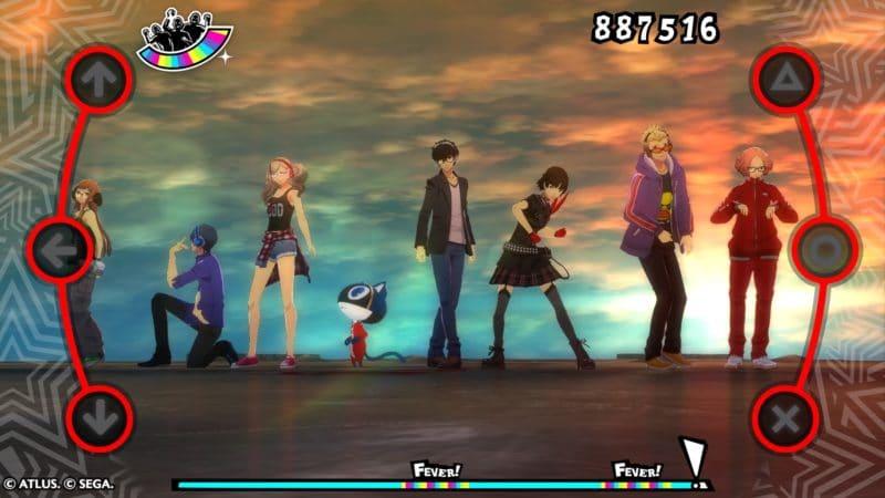 Persona Dancing 3 et 5 Les voleurs fantômes au grand complet
