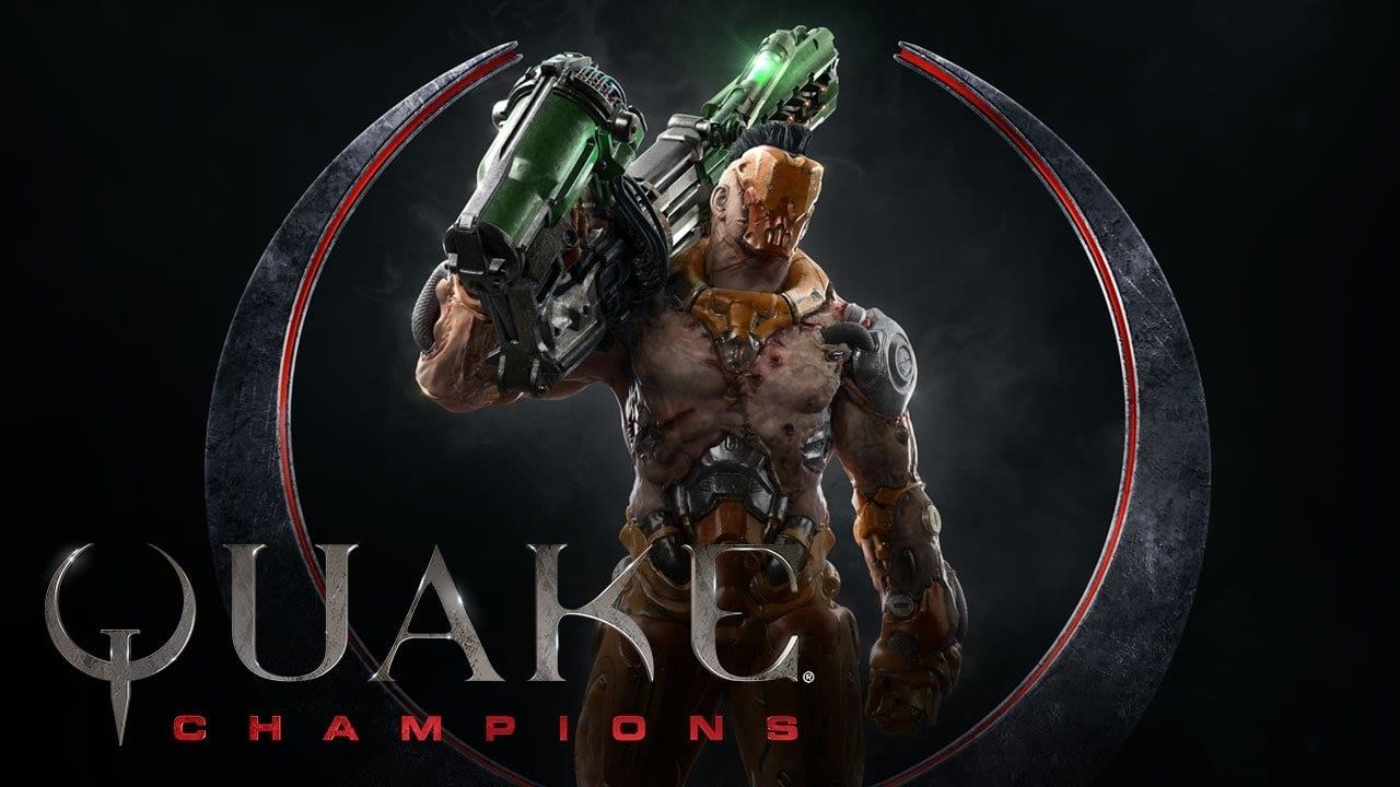 Quake champion Heros logo