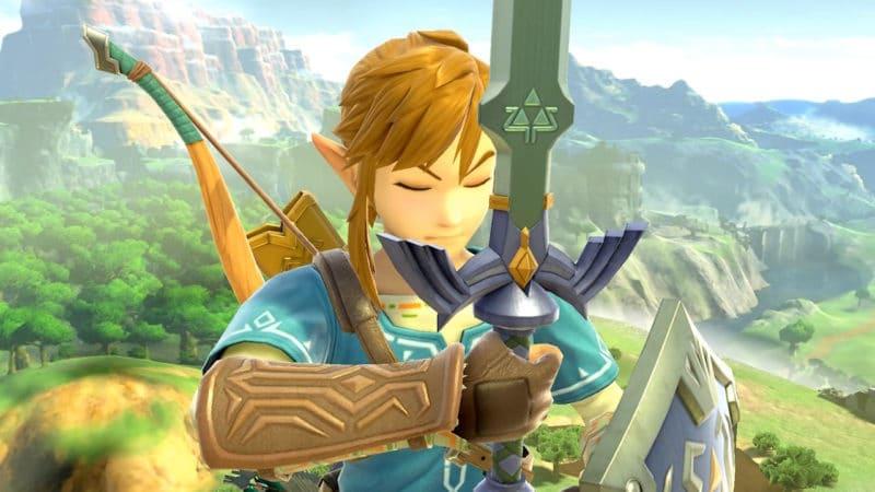 Super Smash Bros. Ultimate - Link prend la pose