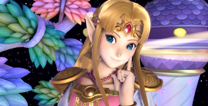 Super Smash Bros. Ultimate - La princesse Zelda