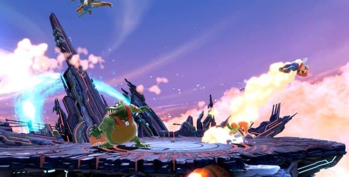 Super Smash Bros. Ultimate - Smash à quatre sur Destination Finale