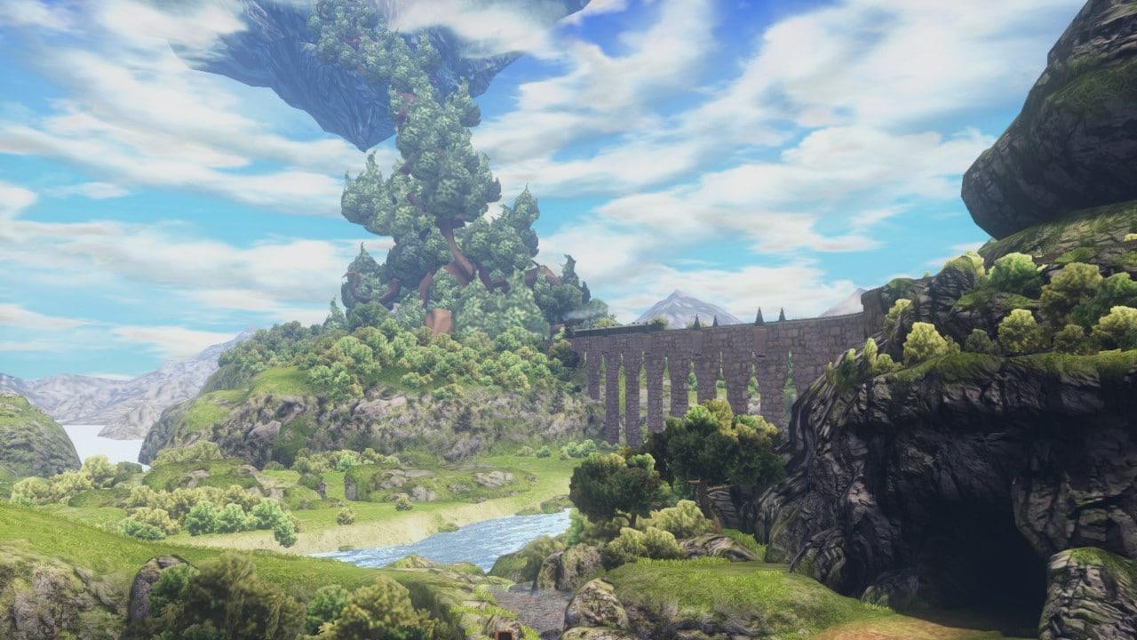 Test World of Final Fantasy Maxima - panorama