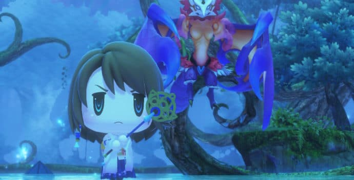 Test World of Final Fantasy Maxima - Dame Yuna