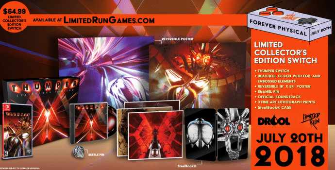 Thumper CE - annonce Limited Run Games