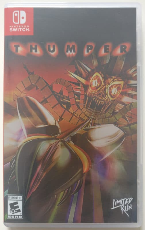 Thumper - boîtier jeu Nintendo Switch recto