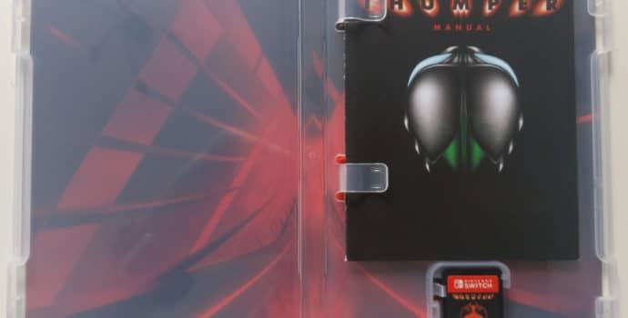 Thumper - boîtier jeu Nintendo Switch interne