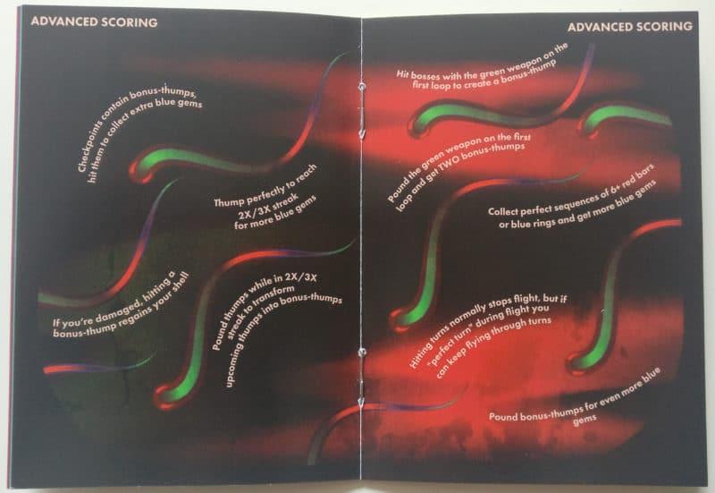 Thumper - livret pages scoring avancé