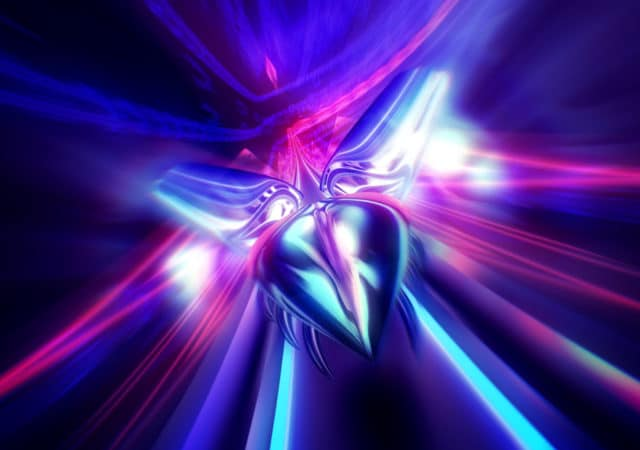 Thumper screenshot scarabée en vol