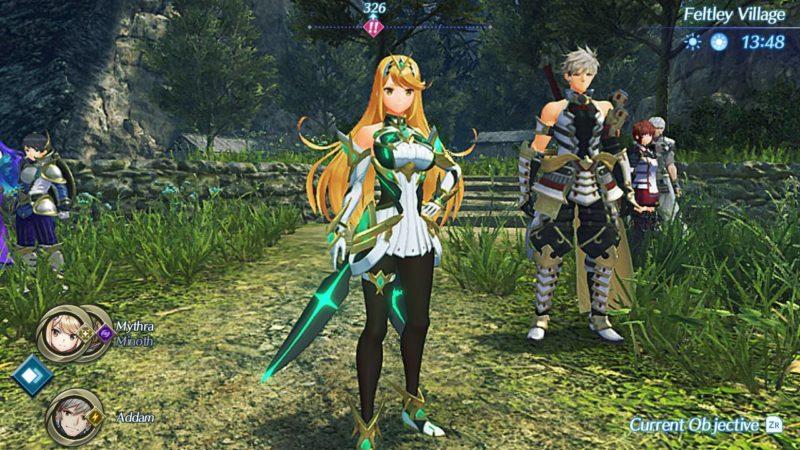 Xenblade Chronicles 2 - Torna - Mythra en costume SSBU