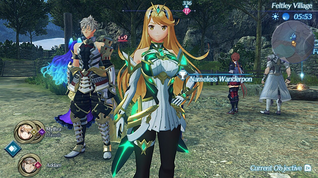 Xenblade Chronicles 2 - Torna - Mythra en costume SSBU plan rapproché