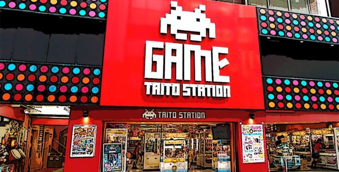 Yasuhiro Wada - une salle d'arcade qui sent le Japon