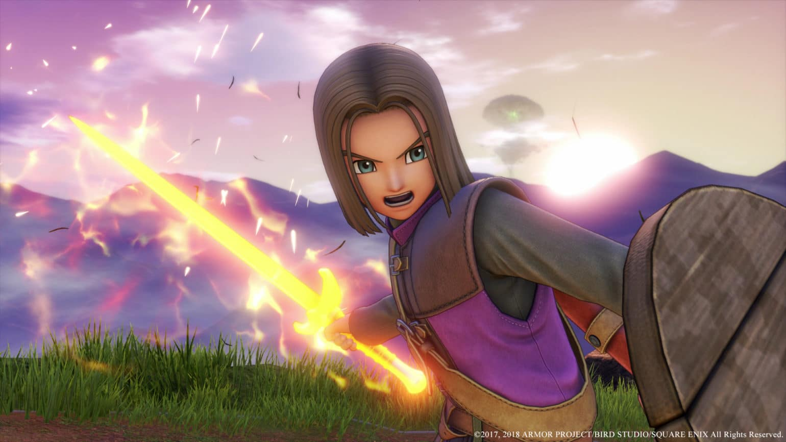 dragon quest XI guerrier
