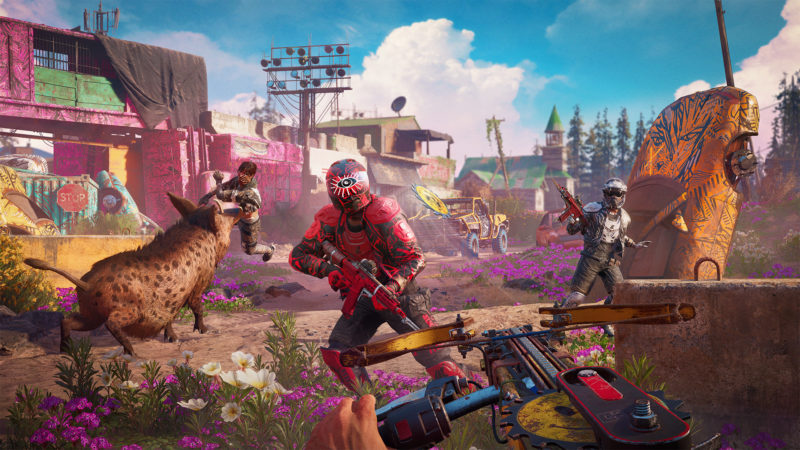 playstation 4 far cry new dawn combat
