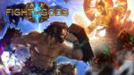 fight of gods avec jesus sur switch