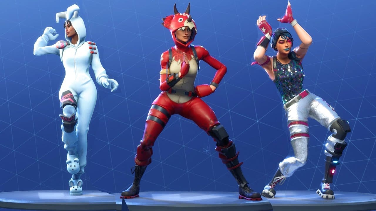 fortnite danse diverses