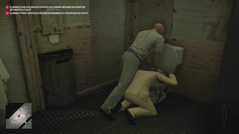 hitman 2 test toilettes meurtres