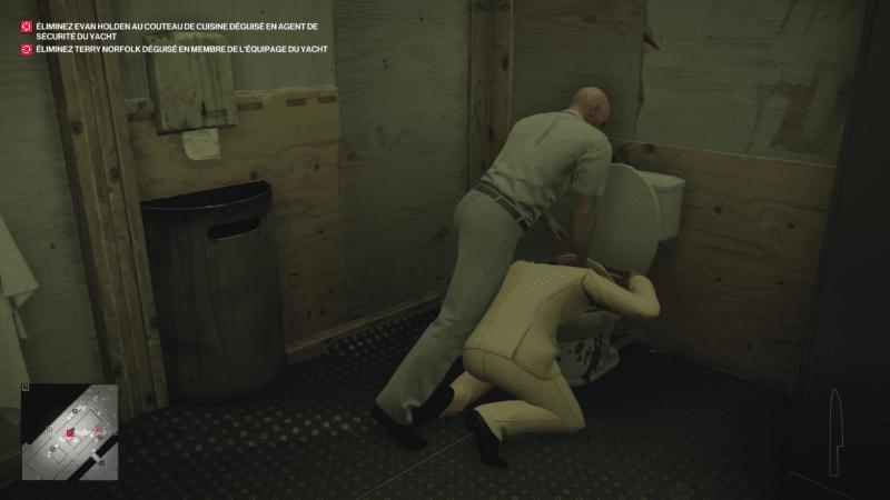 hitman 2 test toilettes meurtres