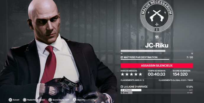 hitman 2 test stat