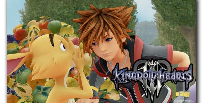 Kingdom Hearts 3 nouvelles images avec Coco Lapin et le Titre