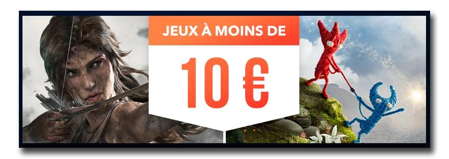 opération jeux à moins de 10€ sur le PlayStation Store
