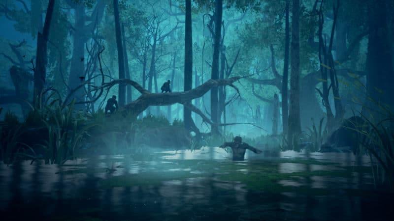 Ancestors: The Humankind Odyssey - Marécage de nuit