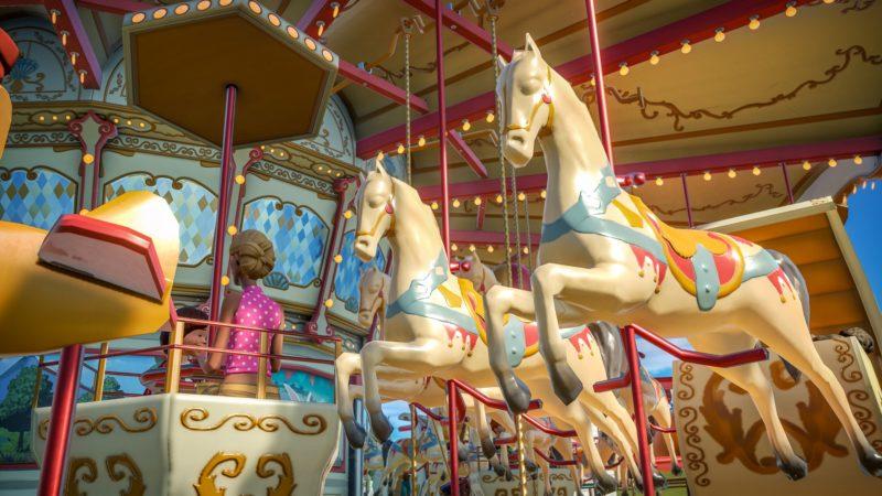 Planet coaster - Carroussel