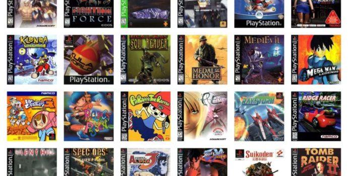 Playstation Classic - Jeux caché
