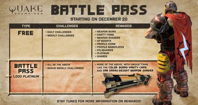 Quake Champion battle pass