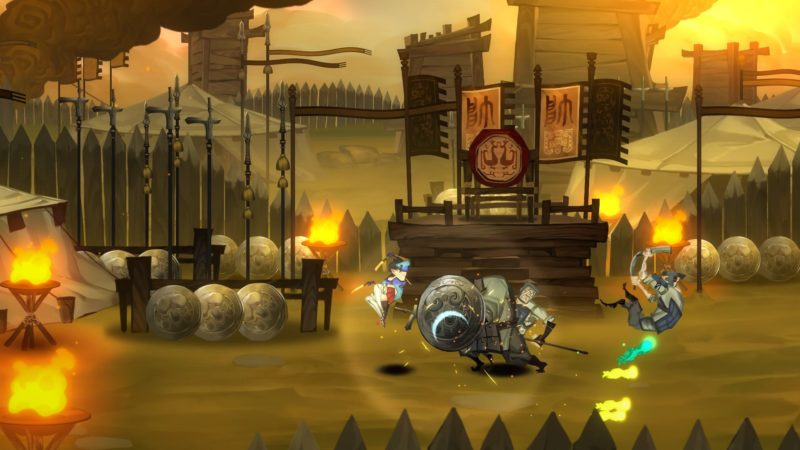 bladed fury screenshot 1