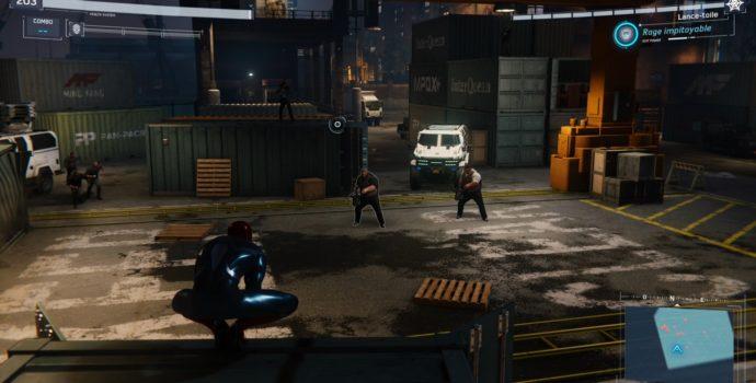 spider-man : le casse test dlc gatling