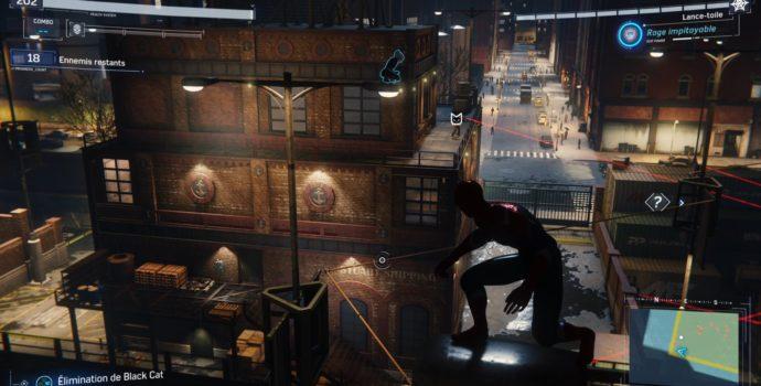 spider-man : le casse test dlc infiltration