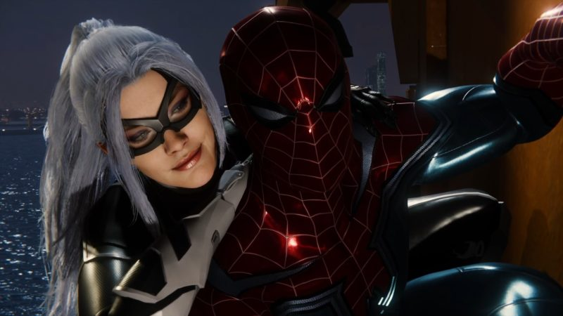 spider-man : le casse test dlc black cat spidey