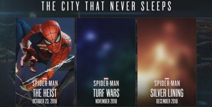 spider-man : le casse test dlc trilogie la ville qui ne dort jamais