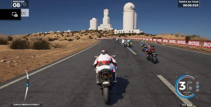 test Ride 3 - Départ