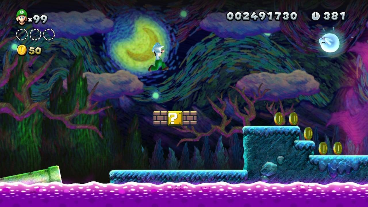 New Super Mario Bros. U Deluxe - Certains niveaux très beaux