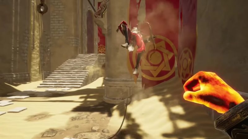 City of Brass - poing combat