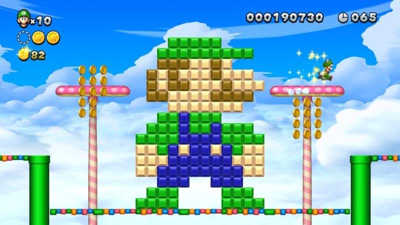 New Super Mario Bros. U Deluxe - Luigi Roi