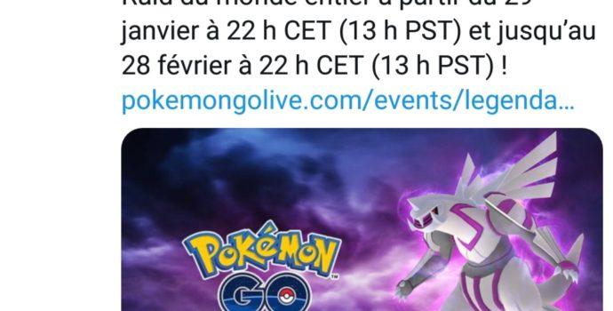 Pokémon GO - Palkia annonce