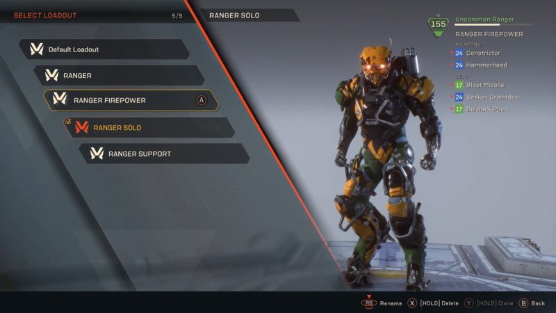 anthem javelin commando
