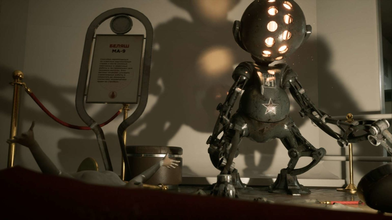 Atomic Heart Trailer robot communiste