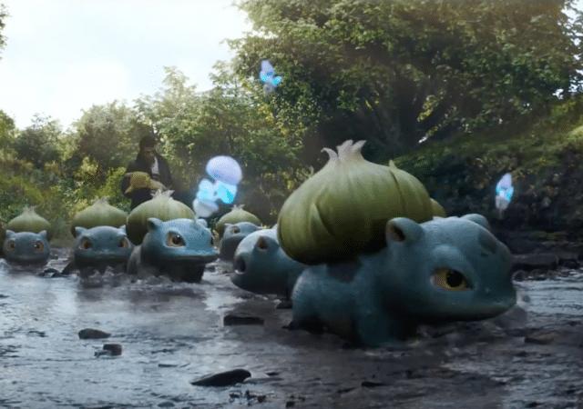 Bulbizarre dans la Bande Annonce de Pikachu Detective