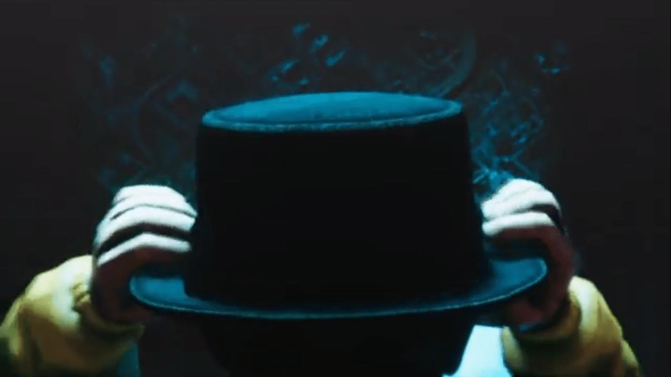 Chapeau de Walter White; trailer Breaking Bad: Criminal Elements