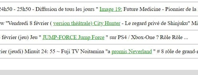 jump force rumeur site officiel Mami Koyama