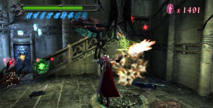 Devil May Cry gameplay