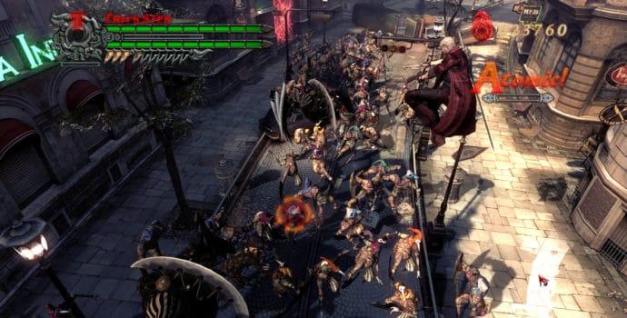 Devil May Cry 4 Dante à Fortuna